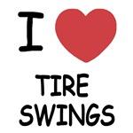 I heart tire swings