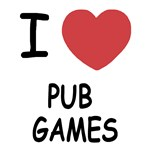 I heart pub games