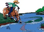 Trail Horse Water-Gal