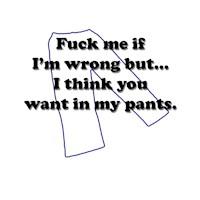 F@#& me if I'm wrong