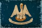Louisiana Staten Flag VINTAGE