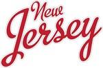 New Jersey Script Font Crimson