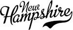 New Hampshire Script Black