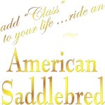 American Saddlebred T-shirts, Gifts: Class