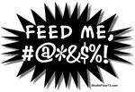 'Feed Me!' (Black Pop Art)