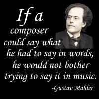 Mahler on Composing