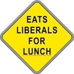 Eats Liberals for Lunch