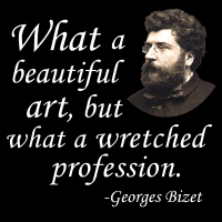 Bizet on the Profession
