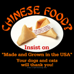 Food from China?