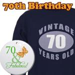 70th Birthday Gag Gifts