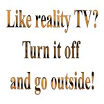 Turn off the TV & Go Outside