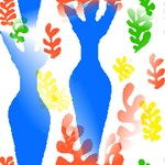 Homage To Matisse Woman