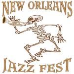 Jazz Fest Skeleton
