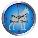 BOXER TIME Wall Clocks
