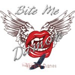 the Vampire Diaries Bite Me Damon VampKiss Wings
