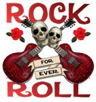 Rock N' Roll 4 Ever Rose Leafs