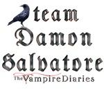 Team Damon Salvatore The Vampire Diaries Cow