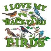 I Love My Backyard Birds