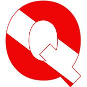 Scuba Flag Letter Q