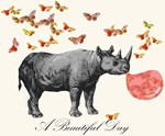 A Beautiful Day with Rhinoceros