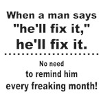 He will fix it