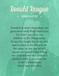 President Ronald Reagan Quote