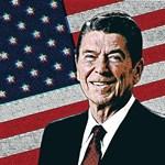 Patriotic President Reagan