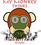 My Monkey Thinks Intelligent Design Stinks