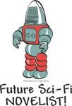 Unique Baby Gifts - Robot Future Sci Fi Novelist