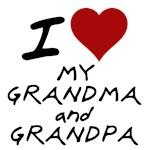 i heart my grandma and grandpa