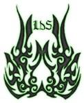 LDS Green Tribal
