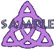 Purple Triquetras