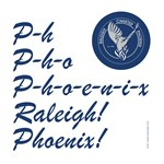 Raleigh Phoenix Cheer with Logo