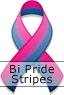Bi Pride Ribbon