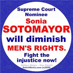 Sotomayor diminish men