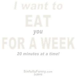 Eat You 4 A Week