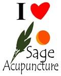 I Heart Sage Acupuncture Tees