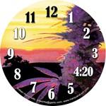 Marijuana Clock Designs