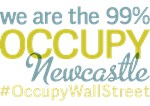 Occupy Newcastle Upon Tyne T-Shirts