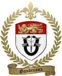 GAUDREAUX Family Crest