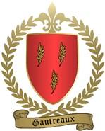 GAUTREAUX Family Crest