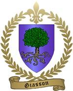 GIASSON Family Crest
