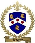BEAUDOIN Family Crest