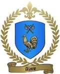 ALARIE Family Crest