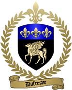 DUFRESNE Family Crest