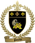 POIRIER Family Crest