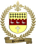 PRONOVOST Family Crest