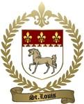 ST. LOUIS Family Crest