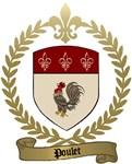 POULET Family Crest