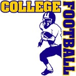 College Football (GoldBlue)